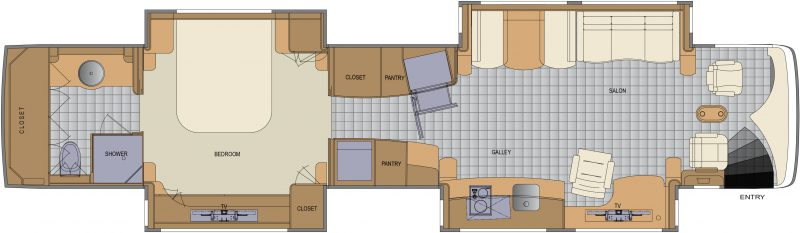 Newell Coach floorplan